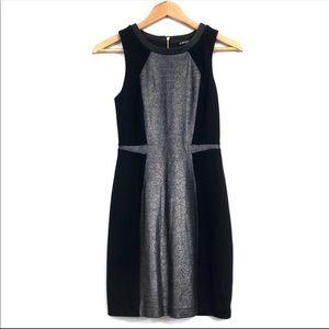 EXPRESS Womens dress XSmall size 2 black silver